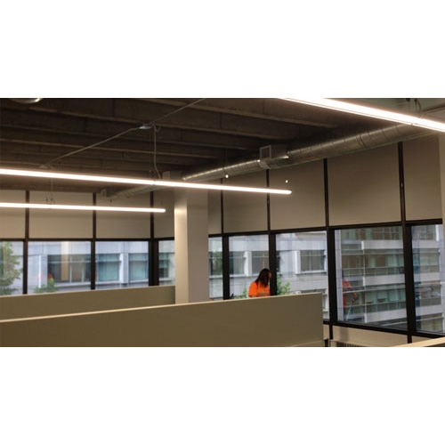 MaxLite 4' Polygon Linear LED Parking Garage Fixture
