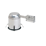 "Nora Lighting - 6"" IC Air-Tight Line Voltage Remodel Housing"