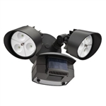 Lithonia LED Flood Light with Motion Sensor