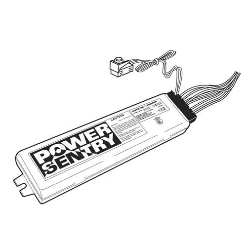 Power Sentry Fluorescent Battery Pack PSQ500QD MVOLT M12