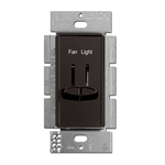 Lutron Skylark Dual Slide to Off Fan Control - S2-LFSQ-BR