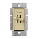 Lutron Skylark Dual Slide to Off Fan Control - S2-LFSQ-IV