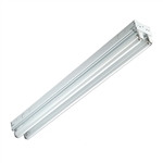 4 Ft LED Ready Double Strip Light