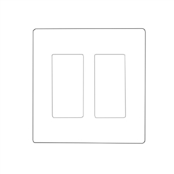 legrand Pass & Seymour - Screwless Decorator Wall Plate