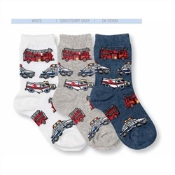 Jefferies Help is on the way! Boys Socks - 1 Pair