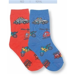 Jefferies Emergency Boys Socks - 1 Pair