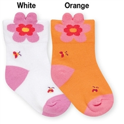 Jefferies Magic Posy Bootie Girls Socks - 1 Pair