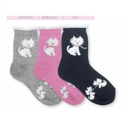 Jefferies Fluffy Westie Girls Socks - 1 Pair