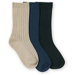 Jefferies Seamless Rib Crew Boys Socks - 1 Pair