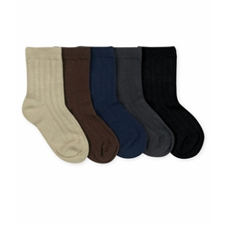 Jefferies Rib Crew Boys Socks - 1 Pair
