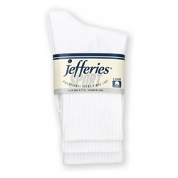 Jefferies Sport Crew Seamless Boys and Girls Socks - 3 Pair