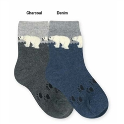 Jefferies Polar Bears Boys Socks - 1 Pair