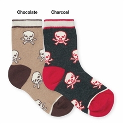Jefferies Skull Boys Socks - 1 Pair