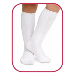 Jefferies Classic Style Girls Socks - 1 Pair