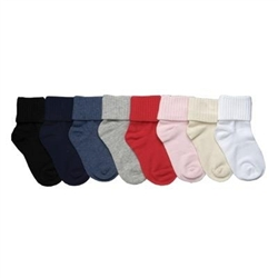 TicTacToe Soft Premium Triple Roll Girls Socks - 1 Pair