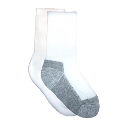 TicTacToe Cushion Crew Boys Socks - 3 Pair