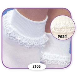 Jefferies Prissy Miss Girls Socks - 1 Pair