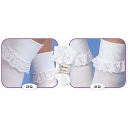 Jefferies Sisters Girls Socks - 2 Pair