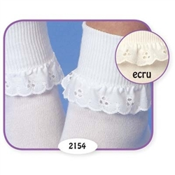 Jefferies Eyelet Girls Socks - 1 Pair