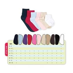 Jefferies Seamless Triple Roll Boys and Girls Socks - 1 Pair