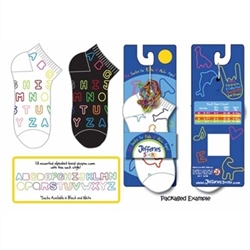 Fun Sockz Fun Sockz Alphabet Kids Socks - 1 Pair