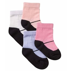 Jefferies Girls Shoe Socks - 1 Pair