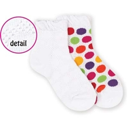 Jefferies Dots All Around Girls Socks - 1 Pair