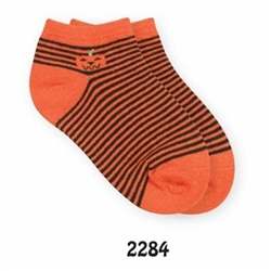Jefferies Pumpkin Ped Girls Socks - 1 Pair