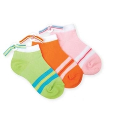 Jefferies Button Back Girls Socks - 1 Pair
