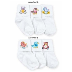 Jefferies Lullaby Baby Boys and Girls Socks - 3 Pair