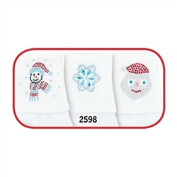 Jefferies North Pole Girls Socks - 3 Pairs