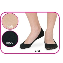Jefferies Seamless Footie Girls Socks - 2 Pair