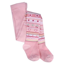 TicTacToe Belle Stripe Girls Tights - 1 Tights