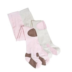 TicTacToe Cushion Knees Baby Girls Tights - 1 Tights