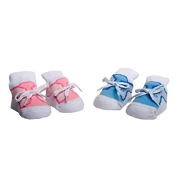 TicTacToe First Sneaks Baby Shoe Socks - 1 Pair