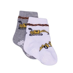 TicTacToe Work Zone Boys Socks - 2 Pair