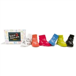 Trumpette Back to DayCare Baby Boys Socks - 6 Pair