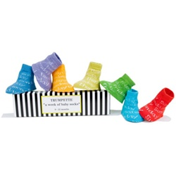 Trumpette Week of Baby Shoe Socks - 7 Pairs