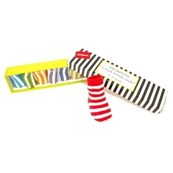 Trumpette Week of Stripes Baby Socks - 1 Pair