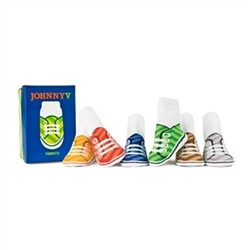 Trumpette Johnny V Baby Socks - 6 Pair