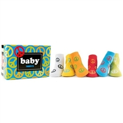 Trumpette Peace Baby Shoe Socks - 6 Pair