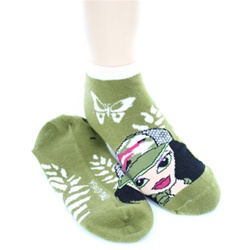 Bratz Olive Girls Socks - 1 Pair
