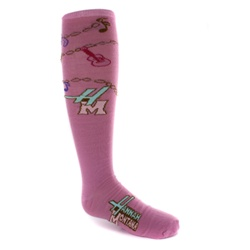 Hannah Montana Pink Knee High - 1 Pair