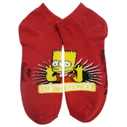 Simpsons Red Socks - 1 Pair