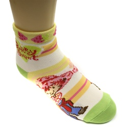 Strawberry Shortcake Dora Lime Girls Socks - 1 Pair