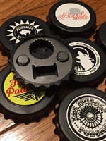 Personalized Custom Made Bottle Cap Magnet Bottle Opener