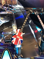 British Flag Guitar MOD for any Music Themed pinball machine