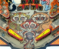 Cat Nip - Pinball Flipper Bat Topper MOD for Bad Cats (Set of 2)