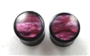 Pair of Organic Horn w/ Pink Resin