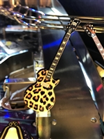 Leopard Skin Guitar MOD for any Music Themed pinball machine